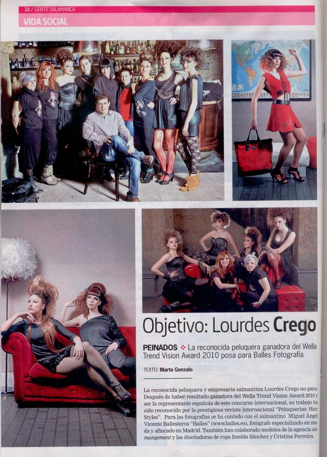 Publicación en Pronto 3 Abril de 2011