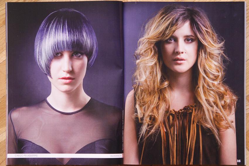 Publicación Revista Peluquerias Hair Styles- Balles | Fotografía