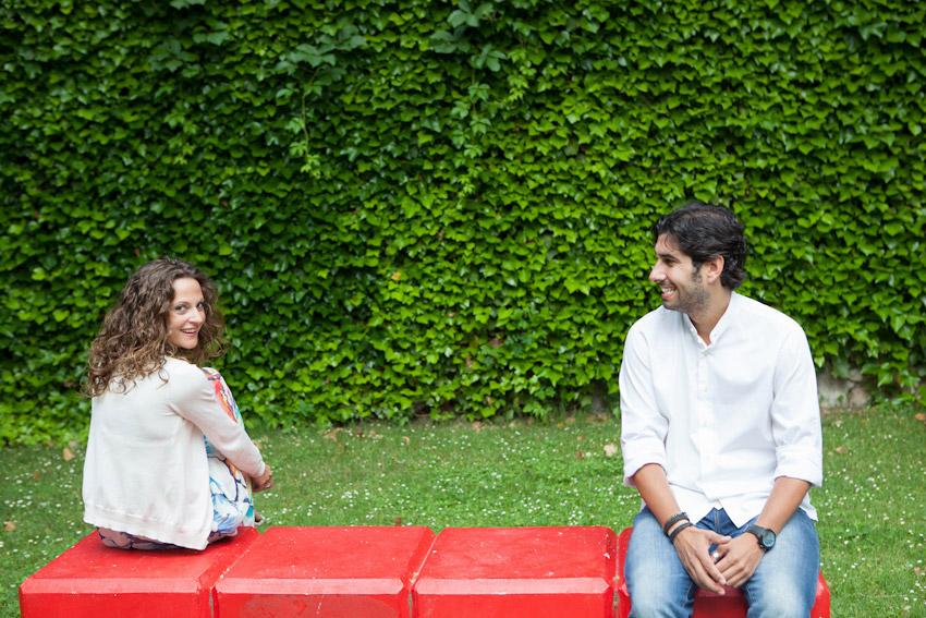 Fotografías de preboda en Salamanca