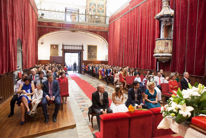 Fotografías de la Capilla de la Universidad de Salamanca