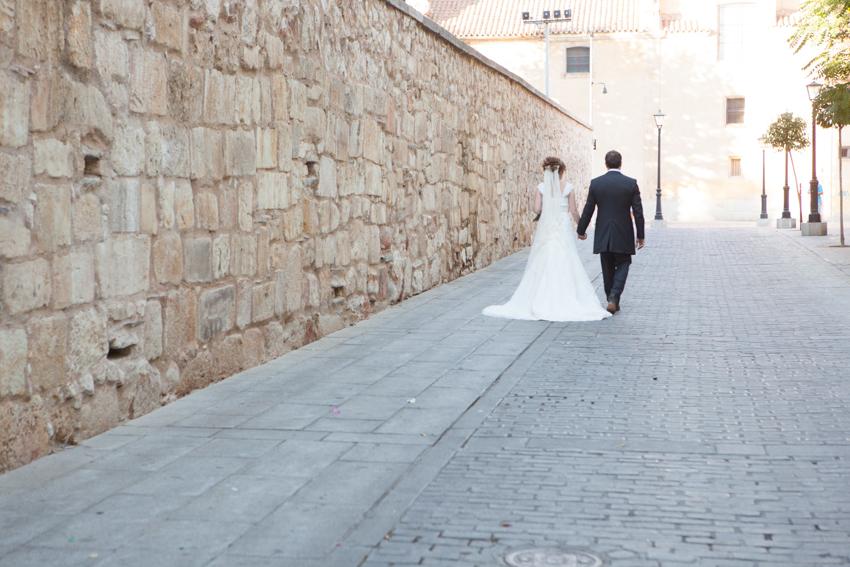Fotografías de de una boda en Salamanca, Monica y Javier
