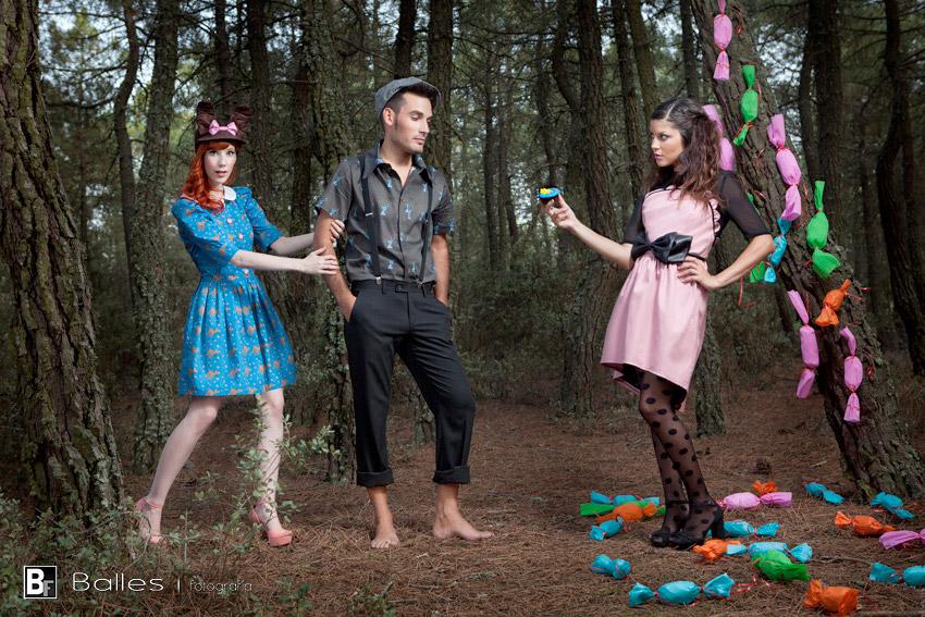 Balles Fotografía - Yiddish Chutzpah Coleccion El bosque de Hansel y Gretel