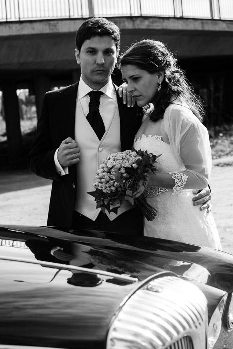 Fotografía de boda en Salamanca, Daimler Ds420 limousine de G3 Motor