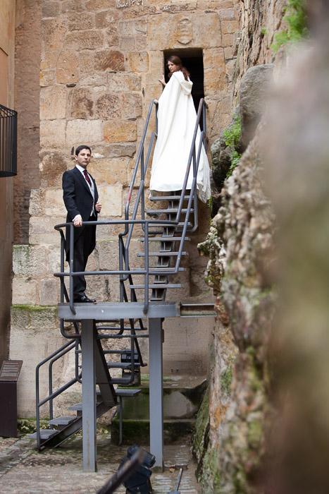 Fotografías de postboda en Salamanca y fotografía de boda en Salamanca, María y Fran