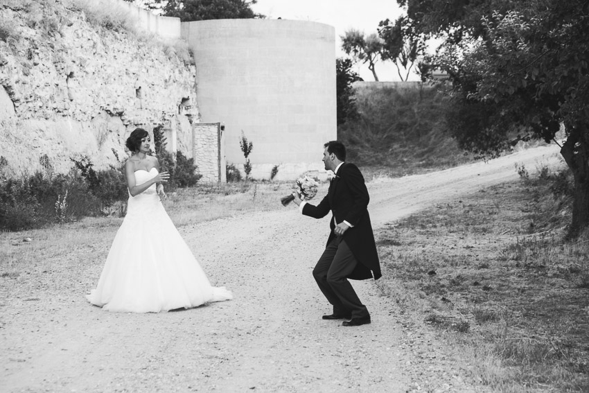 Fotografía de boda en el Castillo del Buen Amor, Salamanca
